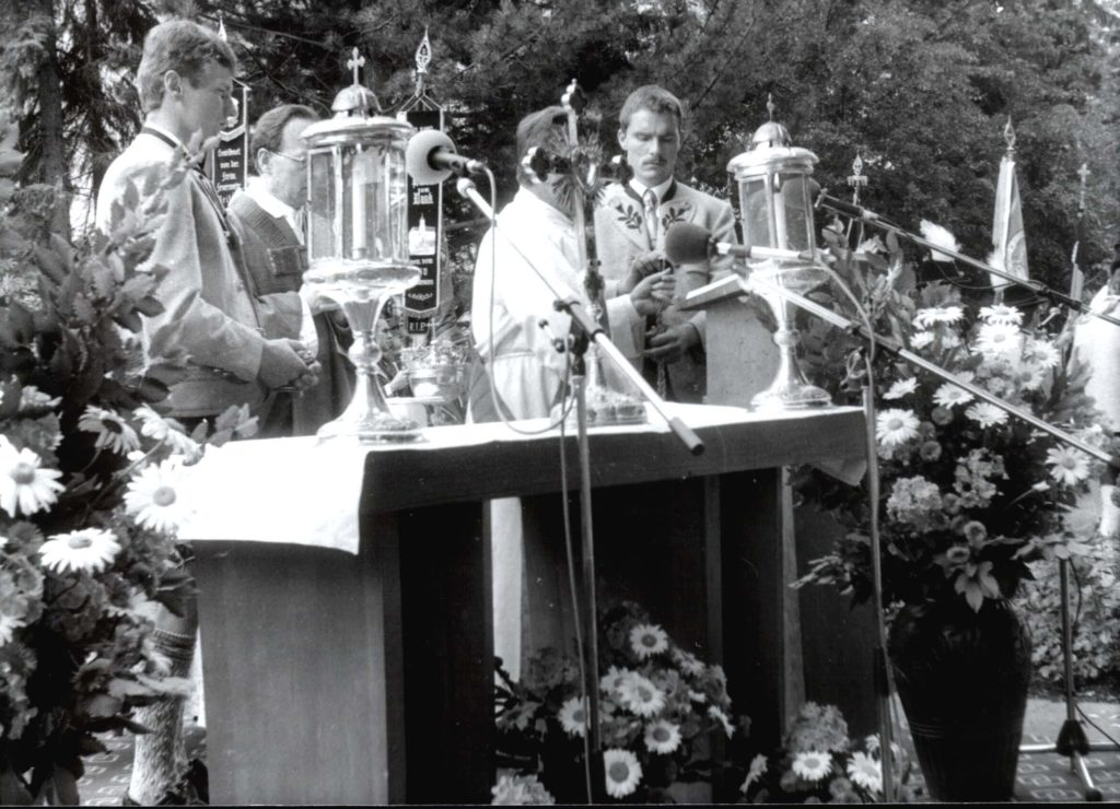Messe anlässlich des 66. Lechgaufests in Peiting