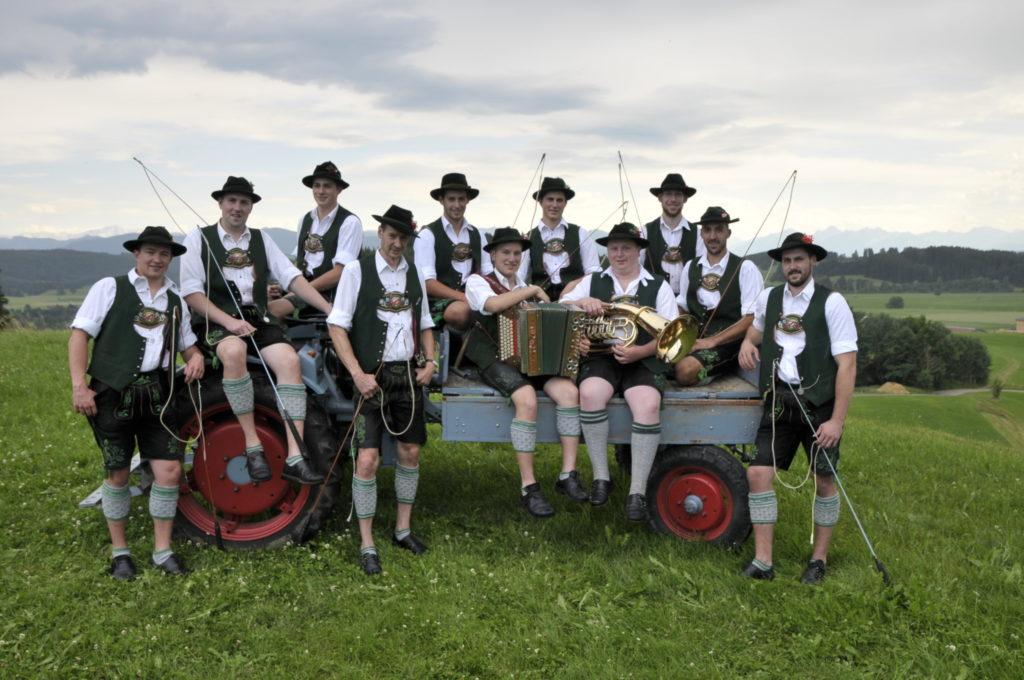 """""""Alpenrose"""" Goaßler auf der Bayrischen Meisterschaft in Weilheim"""
