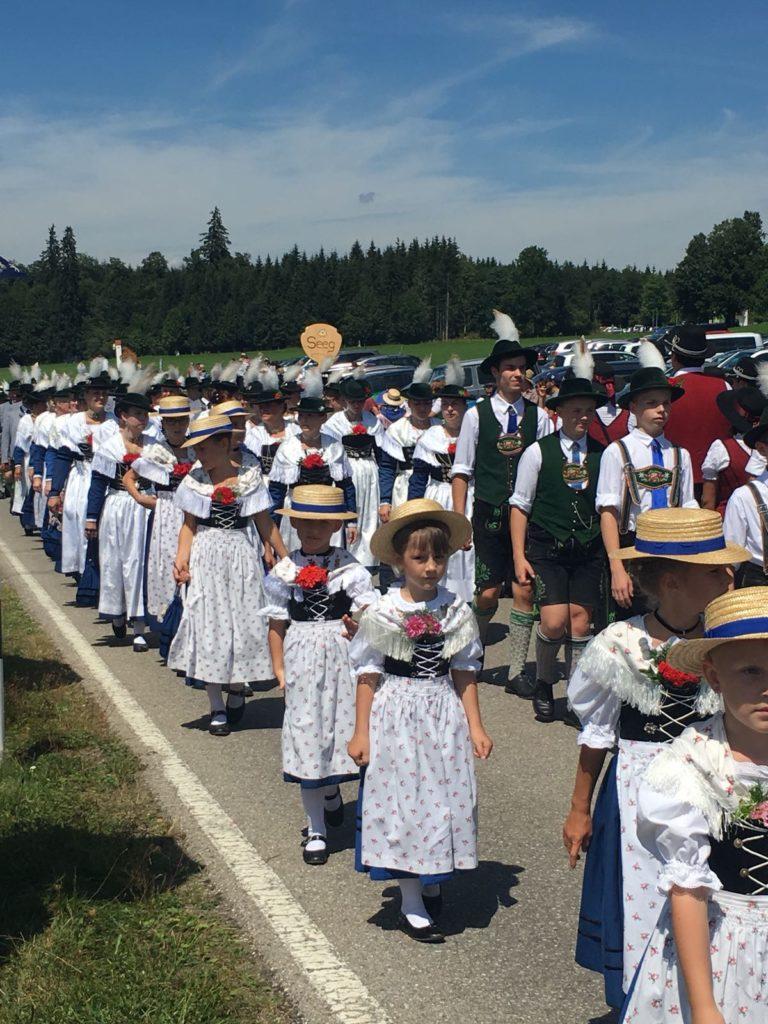 Oberes Lechgaufest in der Wies